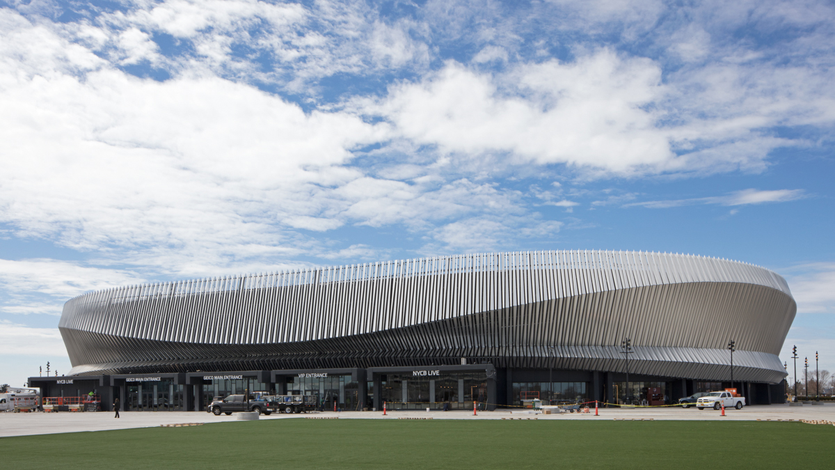 SHoP Architects designed the Nassau Coliseum in New York