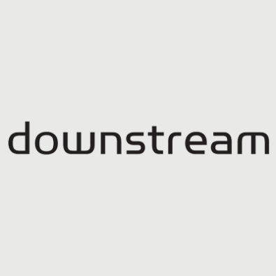 Downstream logo