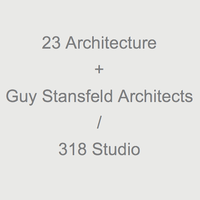 23 Architecture + Guy Stansfeld Architects / 318 Studio logo