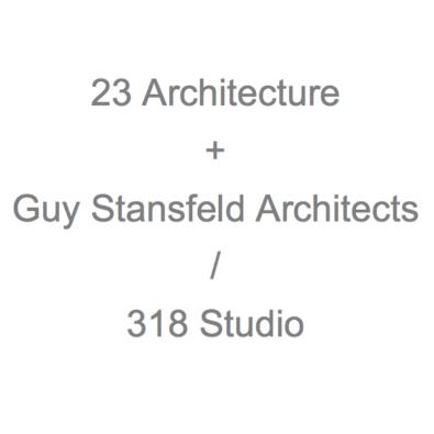 23 Architecture + Guy Stansfeld Architects / 318 Studio logo