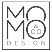 MOMO & CO. Design logo